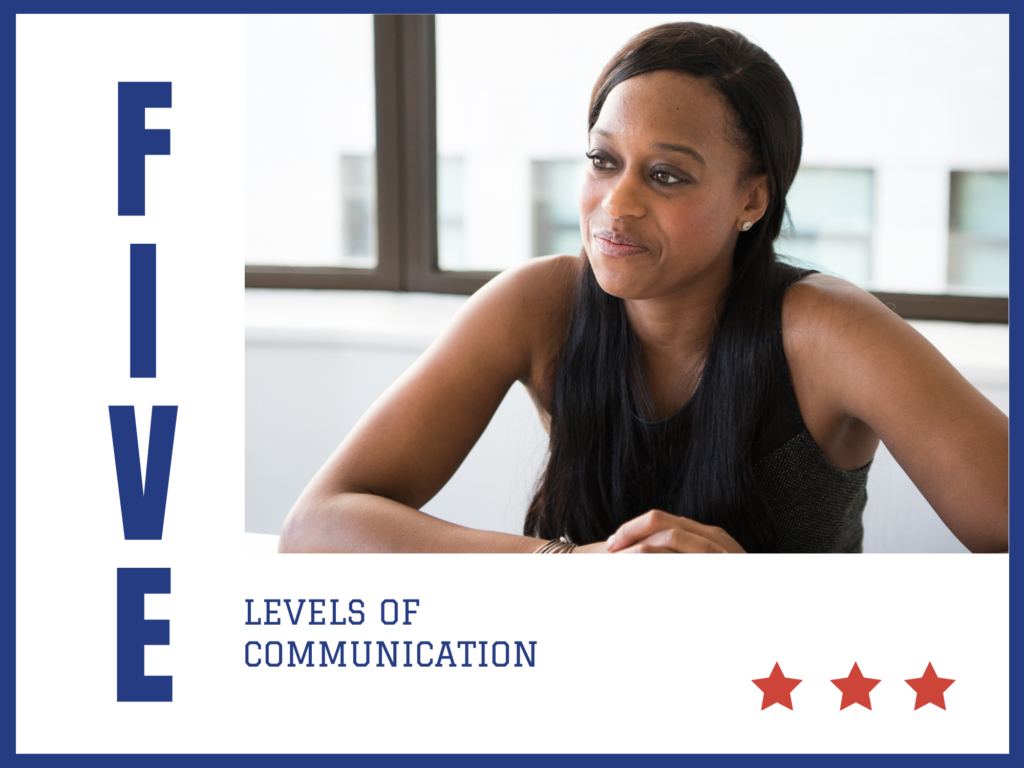 5 Levels of communication in every marriage