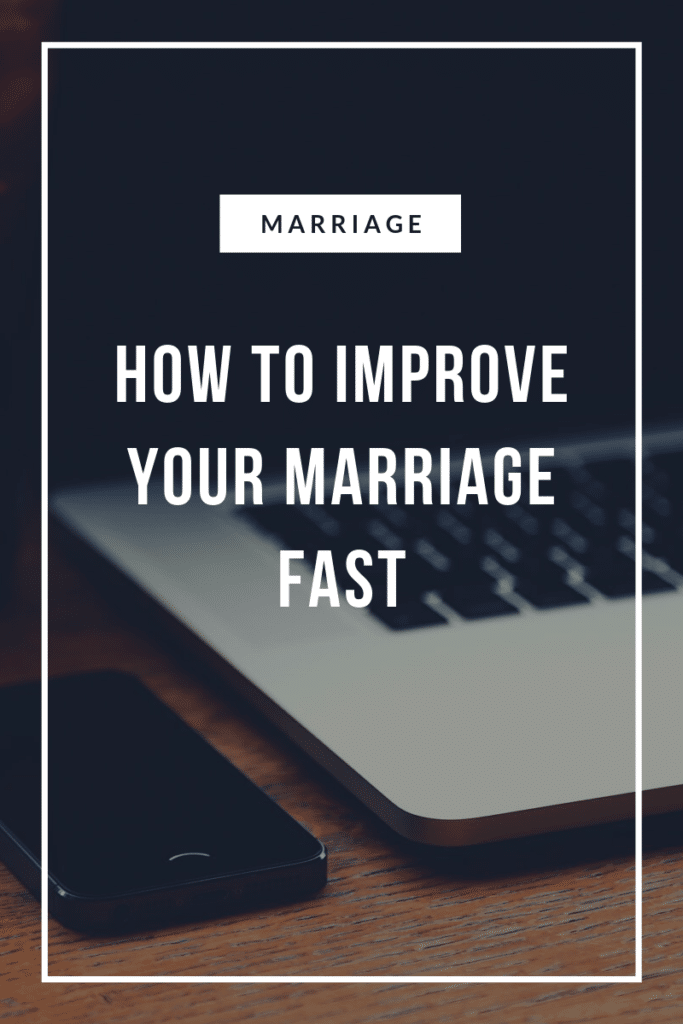 How to improve your marriage r
