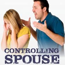 controlling spose, shout at your spouse