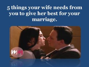 make your wife happy, be the best husband