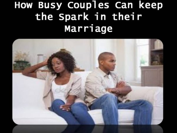busy couples, happy marriage