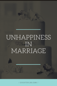 Signs of unhappy marriage