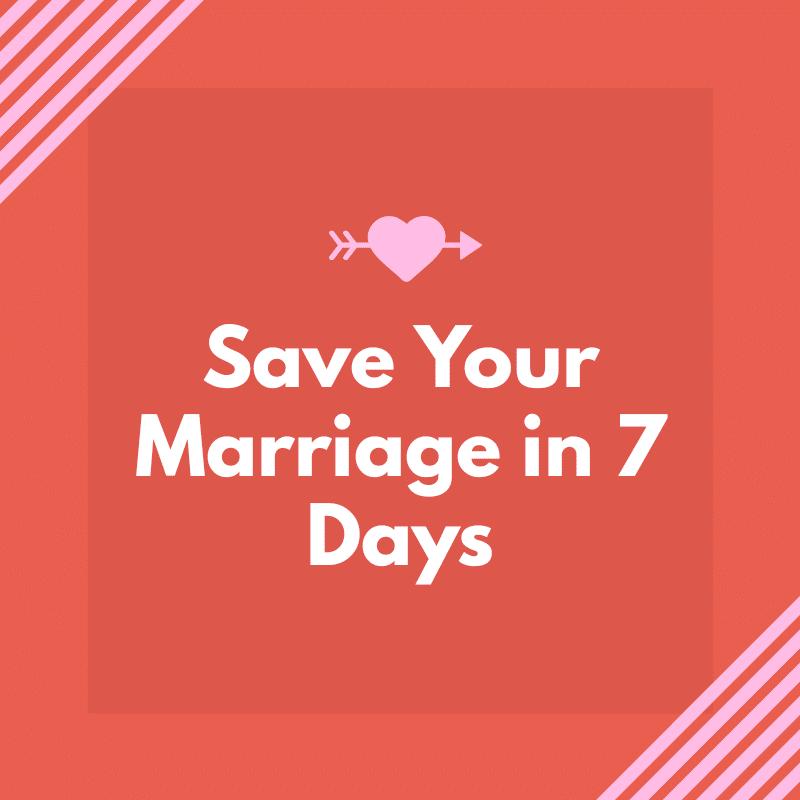 Marriage advice.