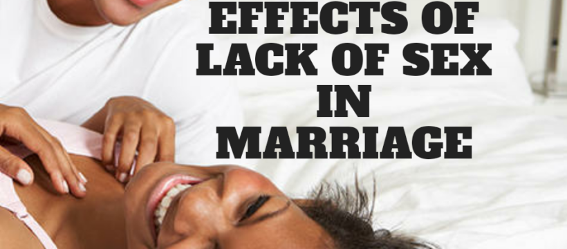 lack of sex in a marriage, sexless marriage