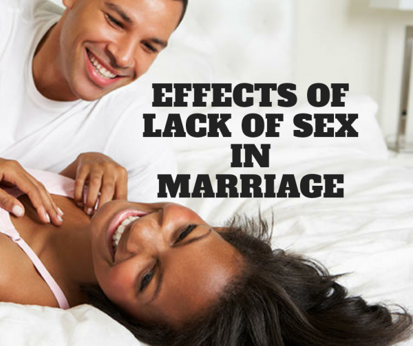 Effects of lack of sex in marriage