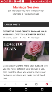 Marriage blog, marriage bloggers