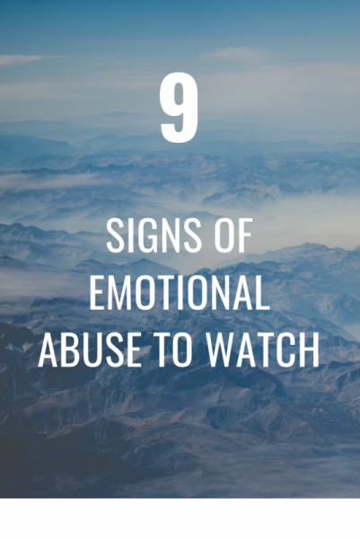 In signs of marriage abuse mental Mentally Abusive