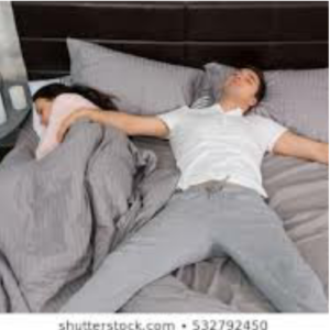 Bed divorce, sleep alone