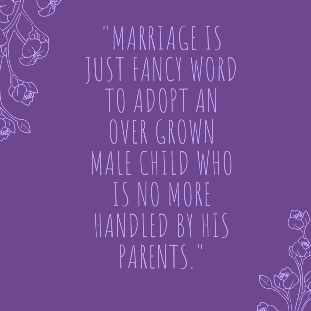 Funny marriage quotes