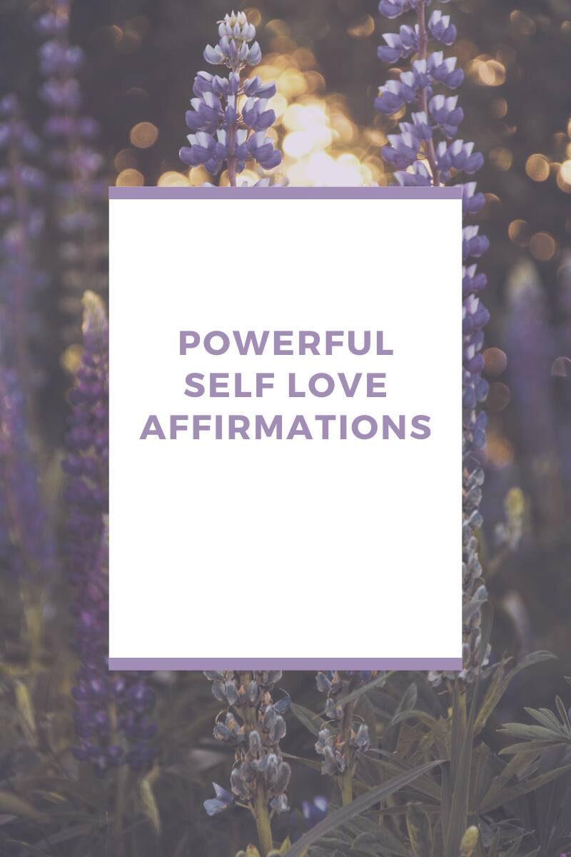 Love positive affirmations 100 Self